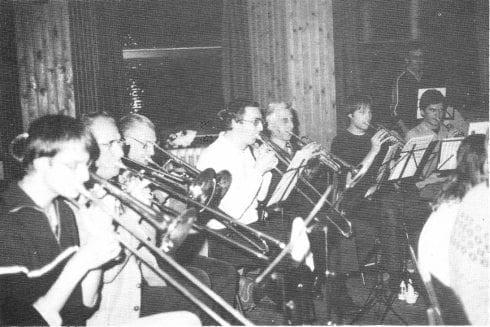 Tijdens een repetitie