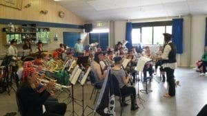 Het opleidingsorkest Caecilia wordt eerste bij het Twiske festival