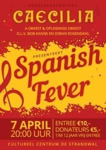 Spanish Fever is het thema van het voorjaars concert Caecilia Heiloo