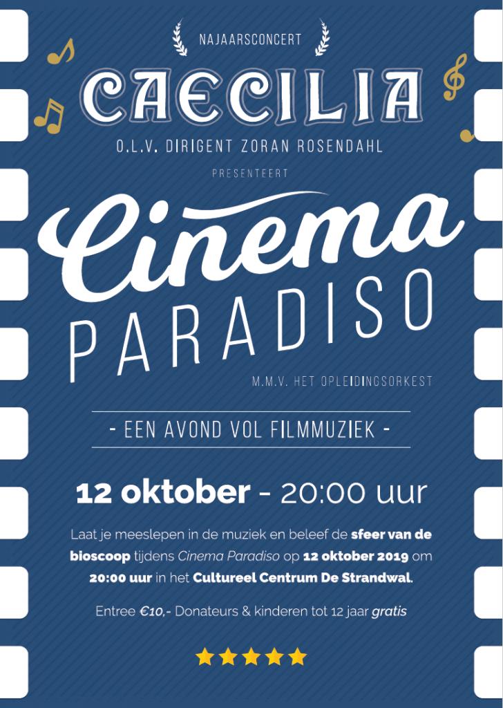 Caecilia Heiloo speelt Cinema Paradiso